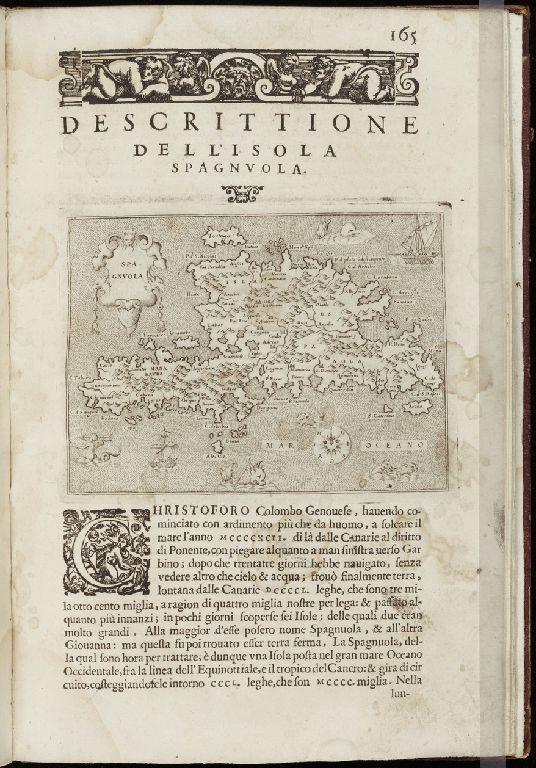 Descrittione dell'isola Spagnuola