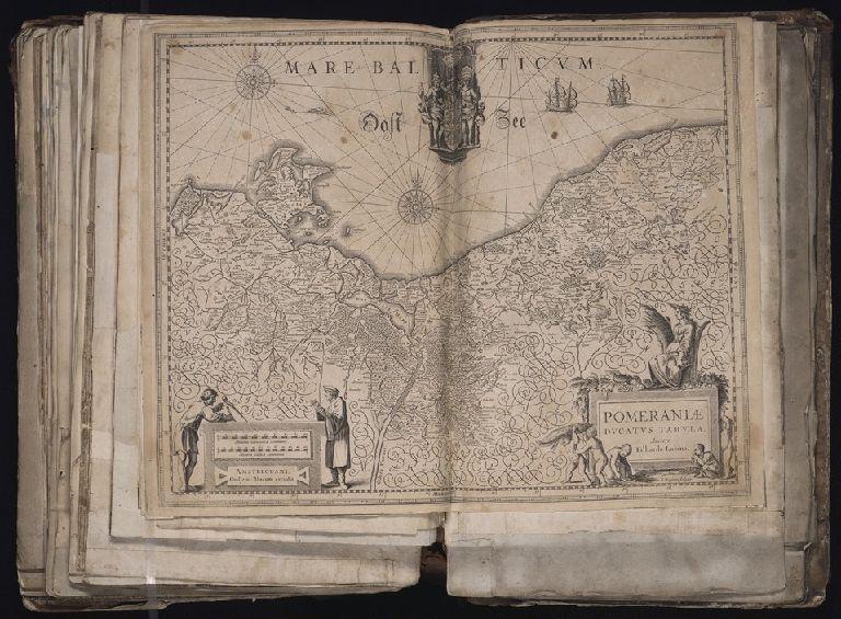 Pomeraniae Ducatus tabula / auctore Eilhardo Lubino ; S. Rogiers sculpsit