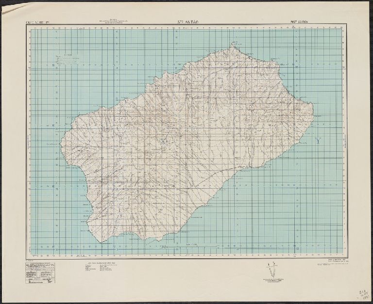 Sto Antão / drawn at War Office, 1940, from a Portuguese map of 1930.