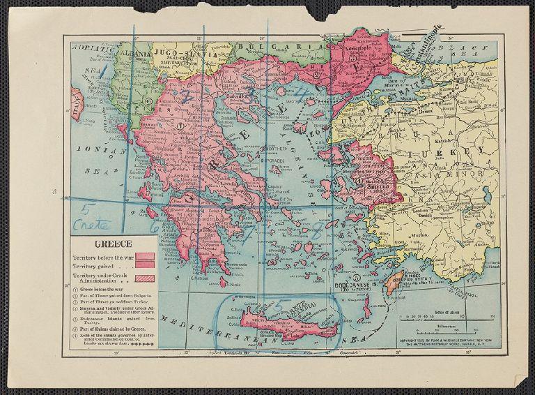 Carte du Royaume de la Grèce ... les Officiers D'État-Major de l'Armée Francaise ... Dediée à Sa Majesté le Roy de la Gréce ... Gravée et écrite par A. Forster, Lithographie Royale.